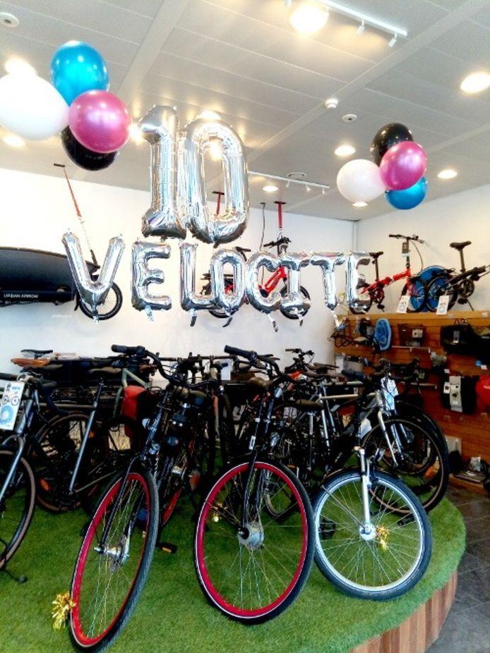 Vélocité fête ses 10 ans en 2021. Pour marquer le coup, des vélos son mis en location gratuitement pendant un an.