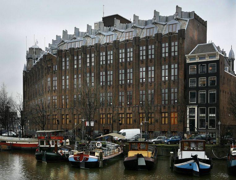Het Scheepvaarthuis, gezien vanaf Binnenkant Beeld Floris Lok