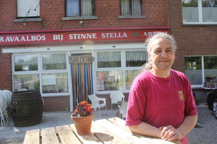 Joost Roggeman van café Bij Stinne.