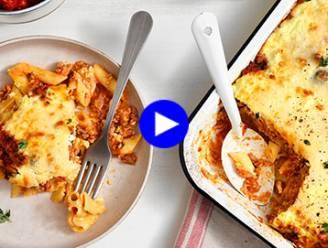 Geef je klassieke pastaschotel uit de oven een Mediterraanse twist