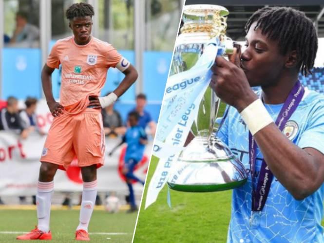 Zijn vertrek was een harde klap voor de beleidsmakers van Anderlecht, vanavond debuteert hij in hoofdmacht van Man City: een kennismaking met Roméo Lavia (17)
