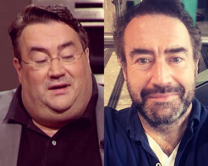 Marc van der Linden in 2013 (links) en nu.