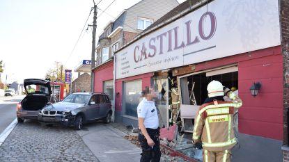 Wagen knalt in wijnzaak Castillo na uitwijkmanoeuvre voor onoplettende chauffeur