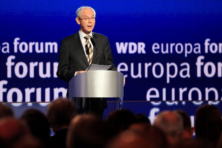Herman Van Rompuy. Beeld EPA
