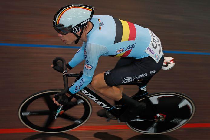 Brent Van Mulders kon zich na anderhalf jaar weer op de piste uitleven.