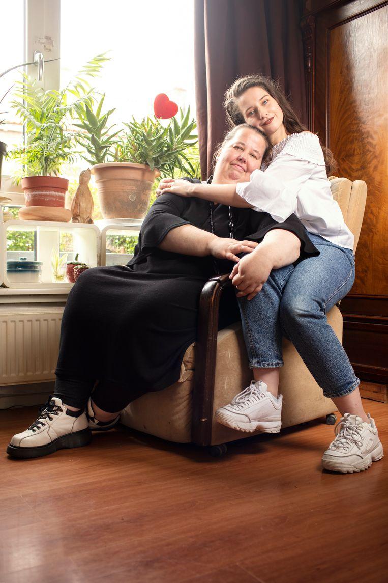 Tatjana en Thirza. Beeld Harmen de Jong