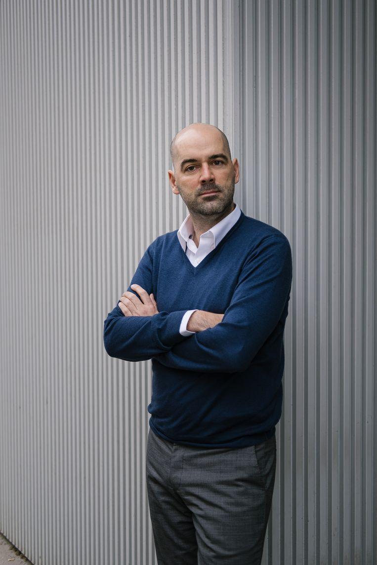 Frederik Anseel. Beeld Wouter Van Vooren
