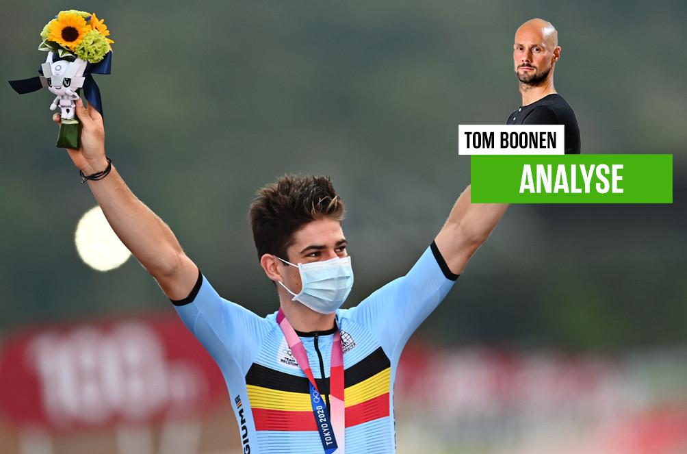 Van Aert zat in een moeilijke positie volgens Boonen.