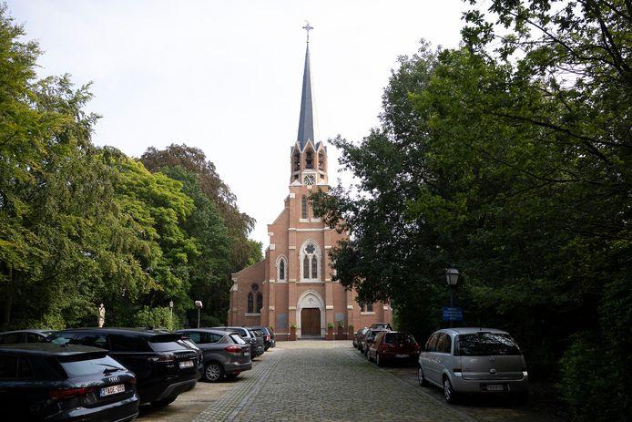 De Sint-Jozefkerk in Hoogboom.