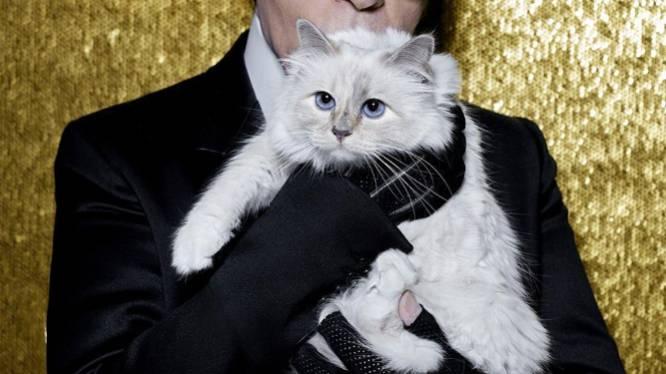 Karl Lagerfeld brengt ode aan zichzelf en kat Choupette