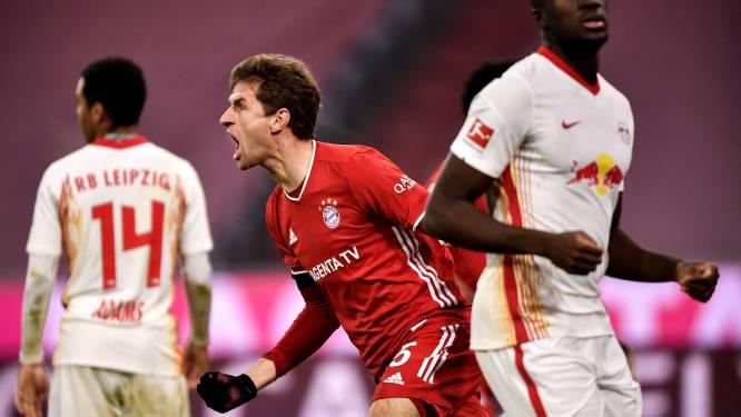 Bayern München en RB Leipzig spelen 3-3 gelijk in spektakelstuk