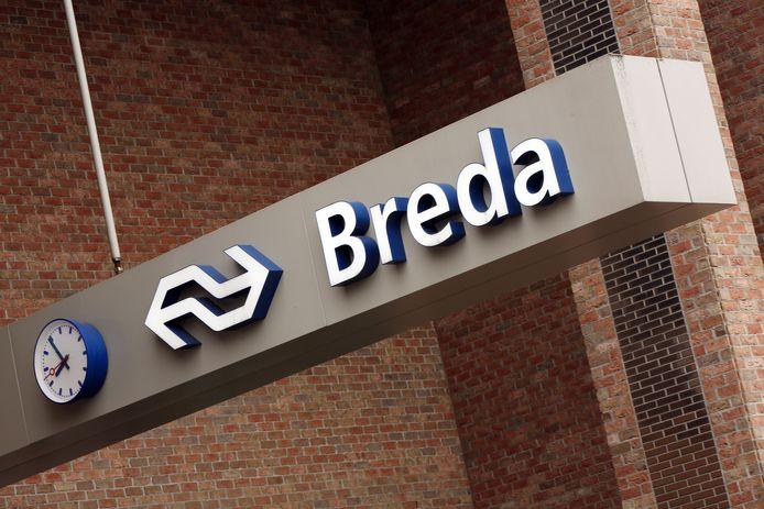 Het station in Breda.