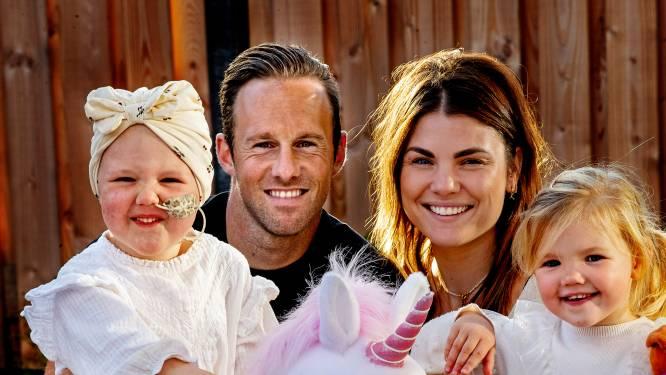 Bart van Hintum dankbaar voor steun voor ernstig zieke dochter: 'Na dat spandoek was het drie dagen gekkenhuis'