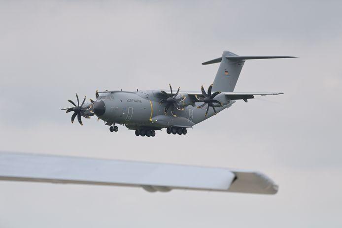 Belgische wapenbedrijven leveren volgens de vijf ngo's sinds 2013 onderdelen voor de Turkse militaire transportvliegtuigen A400M.