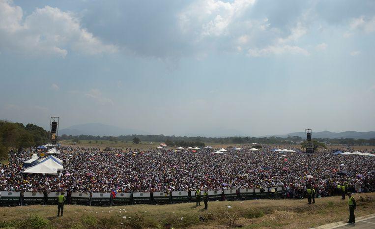 Aid Live Venezuela. Beeld AFP