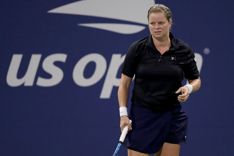 Kim Clijsters. Beeld AFP