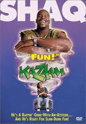"""""""Kazaam"""", vrai film sorti en 1996, avec Shaquille O'Neal dans le rôle d'un génie"""