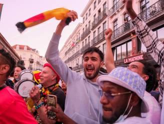Sint-Joost vangt bot: grote schermen in Brussel ten vroegste bij kwartfinales