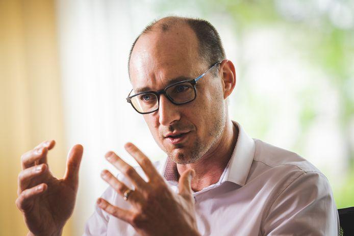 Minister van Financiën en Fraudebestrijding Vincent Van Peteghem (CD&V).