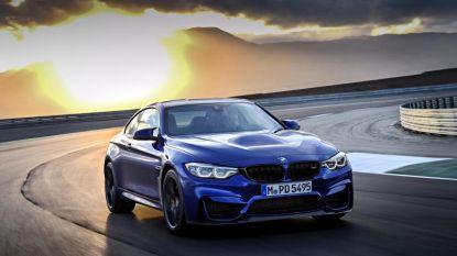Daar is de nieuwe BMW M4 CS: in 3,9 seconden naar 100 km/u