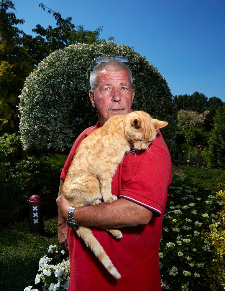 Billy (15), huiskat, Schellingwoude Beeld Isabella Rozendaal