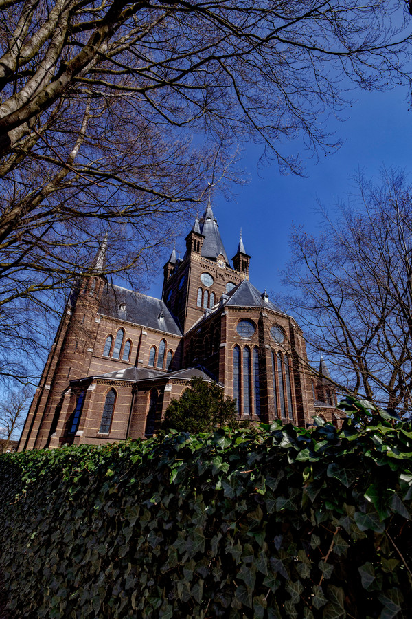 Kloosterpad, april 2021 Etappe 13, nr 8 in chronologische volgorde. Sint Petruskerk