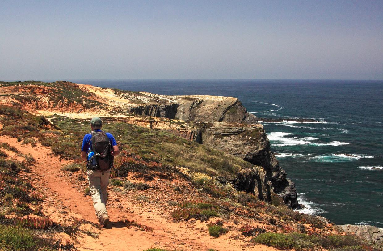 De kuststrook van Portugal zit vol van fantastische vergezichten. Beeld Jonathan Vandevoorde
