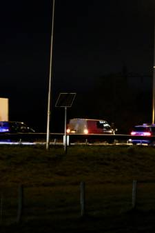 Vertraging weer voorbij na ongeluk op A73 bij Beers