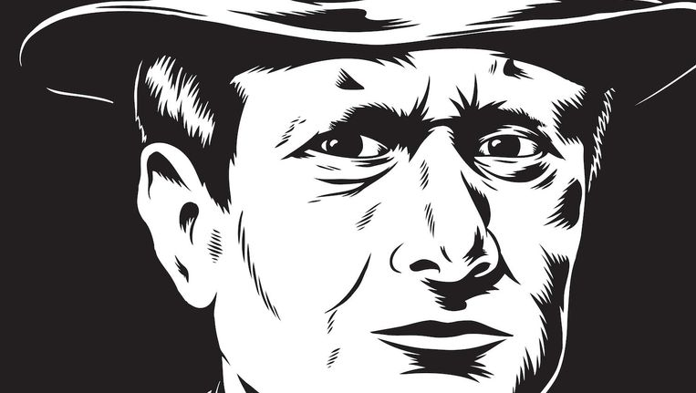 De jonge tekenaar Rob Worst legde de verzetsdaad in stripvorm vast Beeld Rob Worst