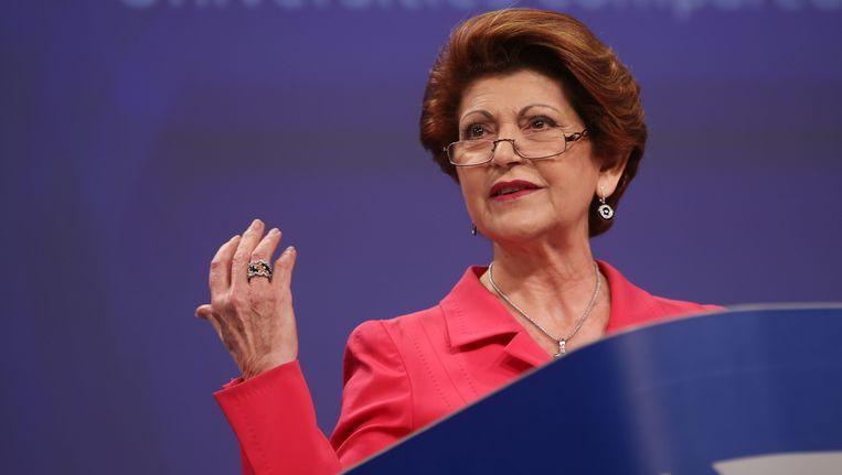 Europees Commissaris voor Cultuur Androulla Vassiliou Beeld EPA