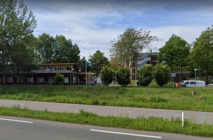 Het azc in Echt, tussen Roermond en Sittard.