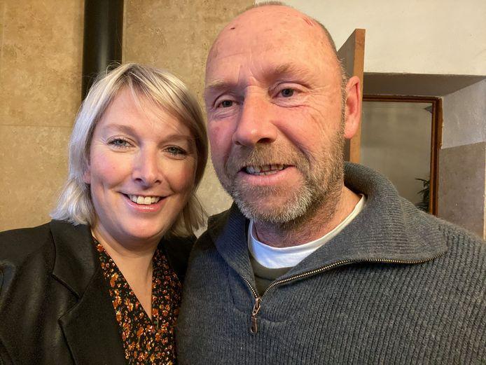 """Tanja Visch en Arno Teunissen uit Gendt. ,,In Frankrijk komen er dagelijks toch nog 19.000 nieuwe coronabesmettingen bij."""""""
