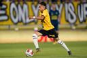 Othmane Boussaid kreeg in Volendam een helft speeltijd.
