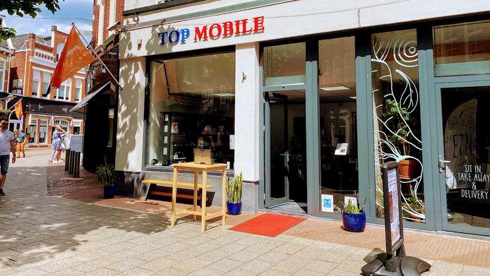 De winkel aan de Haverstraatpassage is sinds enige weken gesloten.