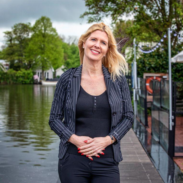 Sandra van Halderen, ceo van Loetje. Beeld Raymond Rutting / de Volkskrant