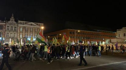 200 manifestanten betogen in Leuvense straten tegen Turks offensief in Syrië