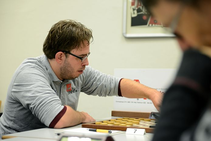 WSDV-dammer Rick Keurentjes op archiefbeeld.