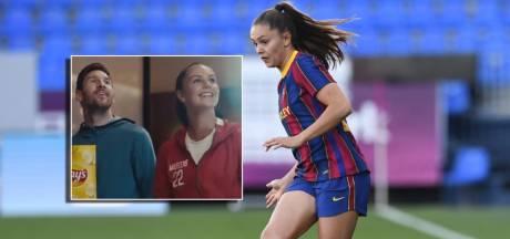 Lieke Martens geniet van reclame met Messi en Pogba: 'Mooi dat ik geen bijrolletje heb'