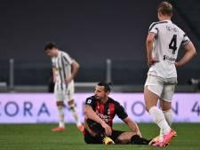 AC Milan moet Zlatan missen in slotfase seizoen