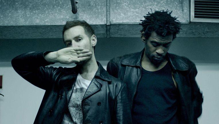 Massive Attack-veteranen 3D en Daddy G. Beeld © RV