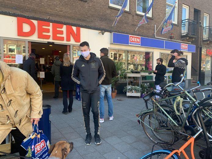 Een Deen-supermarkt.