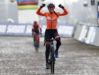 Opnieuw Nederland boven: Lucinda Brand pakt regenboogtrui na pittig duel met Worst en Betsema