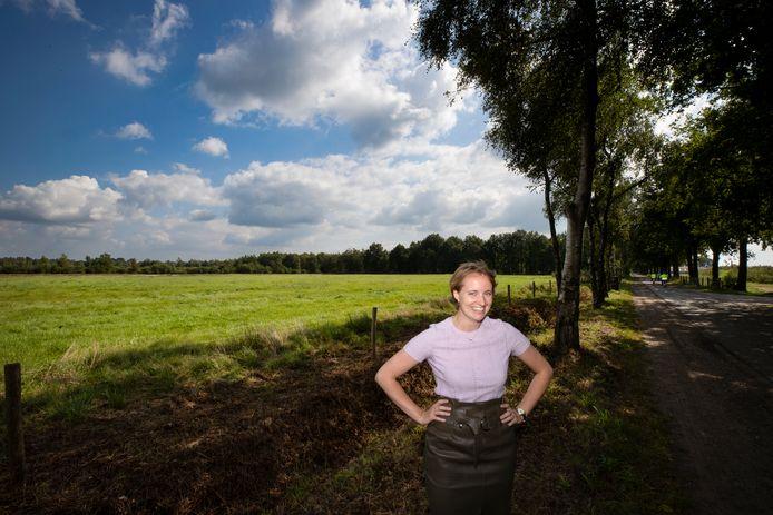 Liselot Cobelens is afgestudeerd aan de Kunstacademie met een kunstwerk gebaseerd op De Peel.