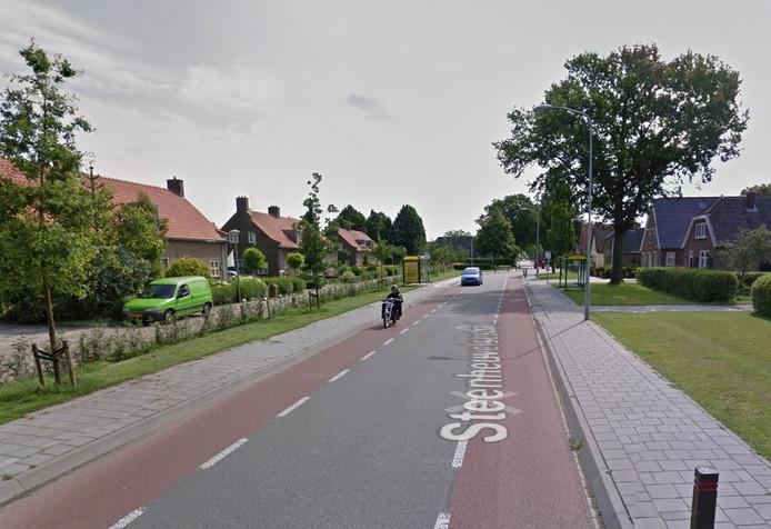 Op de Steenstraat in Leuth wordt volgens bewoners te hard gereden.