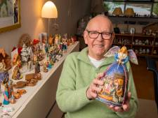 Nijkerker Ad spaarde 110 kerststallen bij elkaar uit de hele wereld