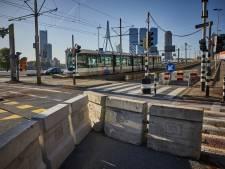 Verkeerswethouder wist niet van afsluiten Erasmusbrug met chaos als gevolg: 'Dit was verkeerd'
