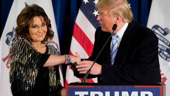 Sarah Palin spreekt steun uit voor Trump als president