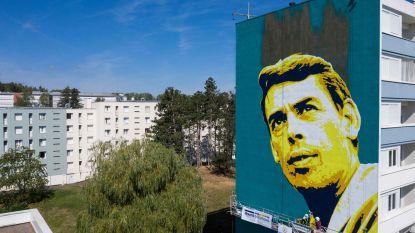 Jacques Brel krijgt muurtekening in Frankrijk