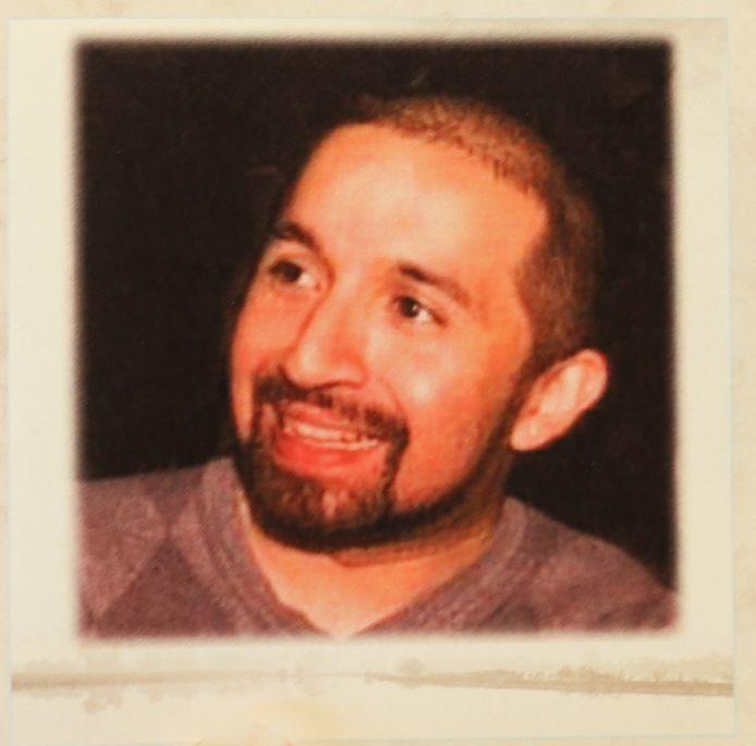 Het bidprentje van Oscar Avila.
