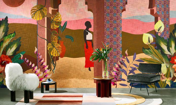 Het behang van Arte Walls is niet zomaar behang, het laat je voelen alsof je in het buitenland bent.